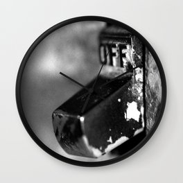 Off Wall Clock