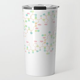 Oxytocin - Hugs are drugs Travel Mug