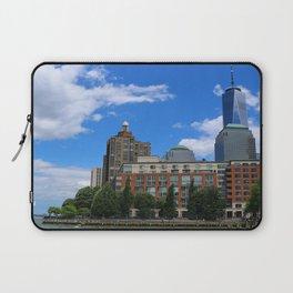 Manhattan And Hudson River Laptop Sleeve