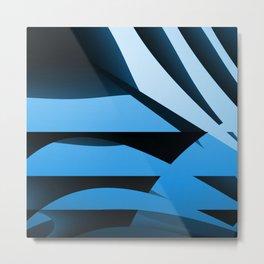 Blue Mystery Metal Print