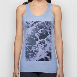 Marbled Waves Unisex Tank Top
