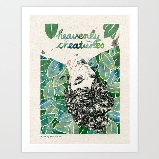 Heavenly Creatures. Art Print