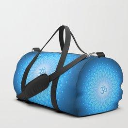 Cosmic mandala. Shanti Om Duffle Bag