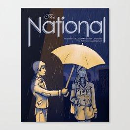 The National band poster (Sad) Canvas Print