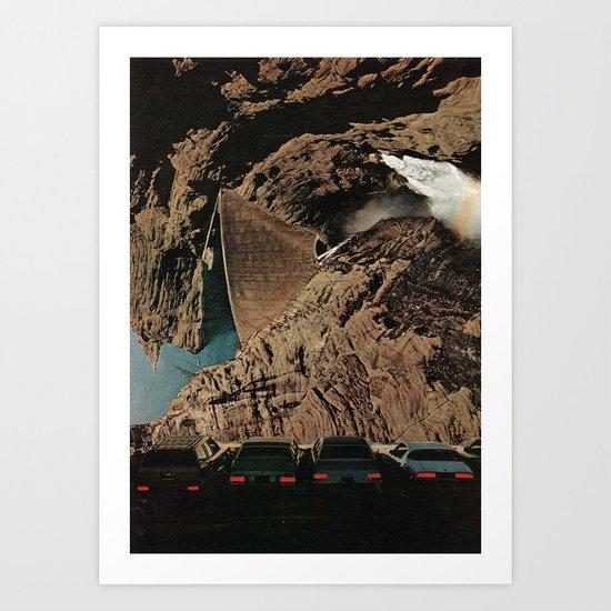 drive-in Art Print
