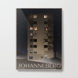 Johanneberg Göteborg Metal Print