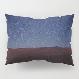 Stars Trails Over Mauna Kea Pillow Sham
