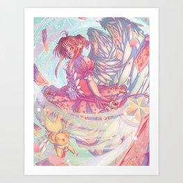 Release! Art Print
