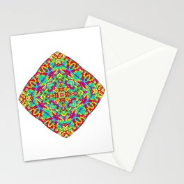 Four Owls Mandala Stationery Cards