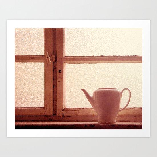 la fenêtre Art Print