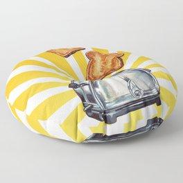 Toaster Floor Pillow