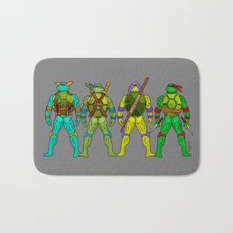 Superhero Butts - Turtles Bath Mat