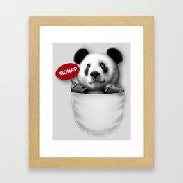 KIDNAP Framed Art Print