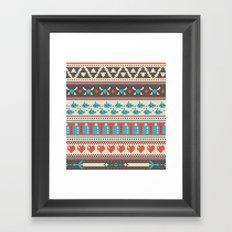 Fair-Hyle Knit Framed Art Print