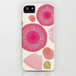 Vintage Floral Light iPhone Case