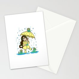 Best Frog Girl - Tsuyu Asui Stationery Cards