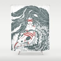 pocahontas Shower Curtains featuring Pocahontas by ItDrizzles