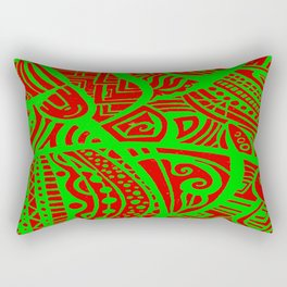 Abstractish 3 Rectangular Pillow