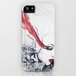 Hurtful Tears iPhone Case