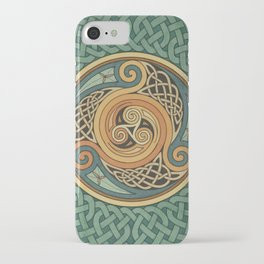 Celtic Knotwork Shield iPhone Case