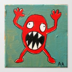 Tomato Monster Canvas Print
