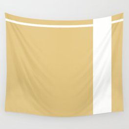 Gold Stripe (2) Wall Tapestry