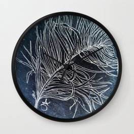 Palm Leaf Earth Day and Easter Wall Clock
