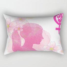 Feminist Spirit Rectangular Pillow