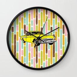 unique car II Wall Clock