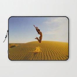 0799 Sandy Dune Nude | The Jump Laptop Sleeve