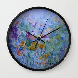Fields of Fancy Wall Clock