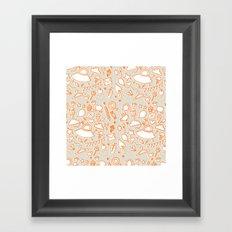extra doodles Framed Art Print