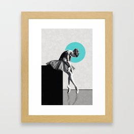 The dancer ... Framed Art Print