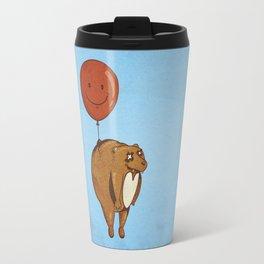 Float On, Bear, Float On Travel Mug