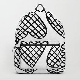 Blak and white Backpack