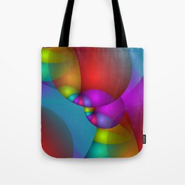 3D abstraction -14- Tote Bag