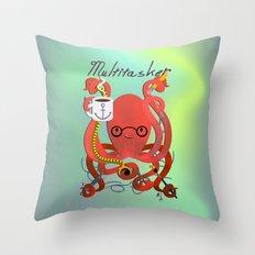 Multitasker Throw Pillow