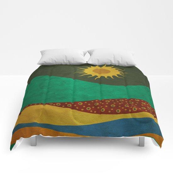 color under the sun (III) Comforters