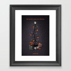 The Nightmare Before Christmas Promo Poster Framed Art Print