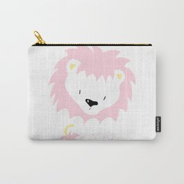 Pink Lion Carry-All Pouch