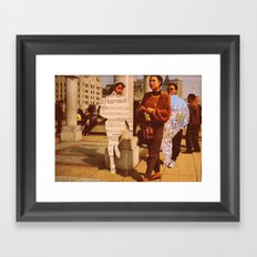Im lost without you Framed Art Print