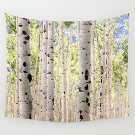 Dreamy Aspen Grove Wall Tapestry