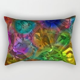 Colorful Crysal Rectangular Pillow