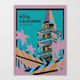 Hotel Cali Canvas Print