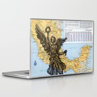 mexico Laptop & iPad Skins featuring Mexico  by Ursula Rodgers