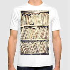 books White Mens Fitted Tee MEDIUM