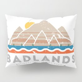 Badlands National Park, South Dakota Pillow Sham