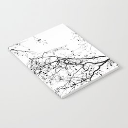 BLACK BRANCHES 2 Notebook