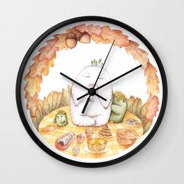 Nature Picnic Wall Clock
