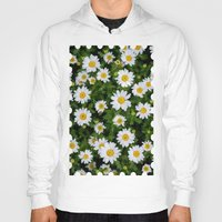 daisies Hoodies featuring Daisies by Mauricio Togawa